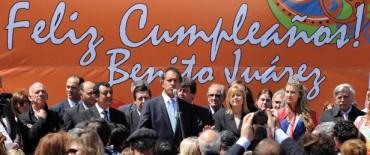Benito Juárez celebra su 145º Aniversario