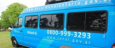 El RENAR móvil está en Olavarría