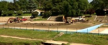 El Municipio inició los trabajos de recuperación en Racing