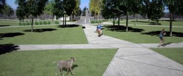Mejoramiento de espacios públicos: Reforma de la plaza Fassina