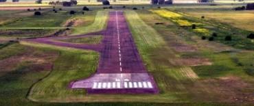 El Gobierno Municipal realiza tareas de mantenimiento y mejoramiento en el Aeródromo Provincial