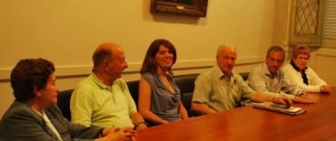 El Intendente Eseverri recibió a la Comisión Directiva de la Asociación de Jubilados y Pensionados Municipales