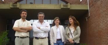 Daniel Salomón se reunió con el Decano de   la Facultad de Ciencias Sociales de Olavarría