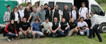 El Pampa Solar viajó a Chile