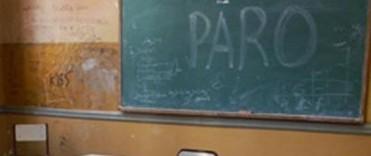 Paro del gremio docente UDOCBA