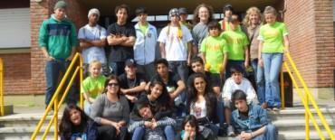 Callejeada Loma Negra, Hinojo y Sierras Bayas participaron de Sociales en Acción