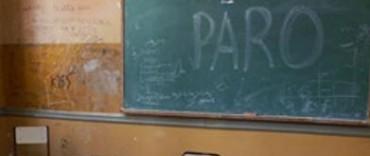 Alto acatamiento al primer día del paro docente de este jueves: en Olavarría alcanzo al 90%