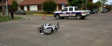 Dos choques complicaron el tránsito en Sarmiento y Pringles