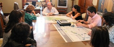 Azul: reunión del intendente con organizadores del VI Festival Cervantino