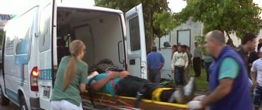 Un ciclista fue embestido por una motocicleta