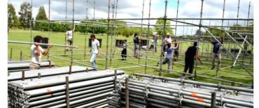 Se ultiman los detalles para la Fiesta Aniversario de Olavarría en el Parque Helios Eseverri