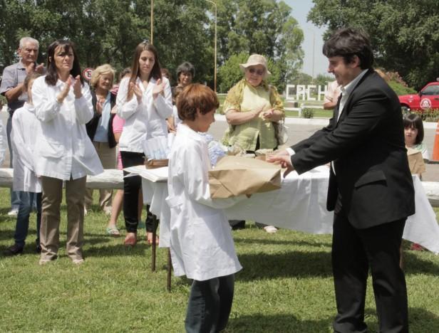 Azul: el intendente Inza realizó diversas actividades en Cacharí
