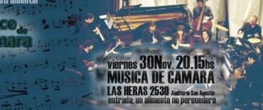 """El Ensamble Instrumental """"Doce de Cámara"""" actuará en el cierre del ciclo """"Música San Agustín"""""""