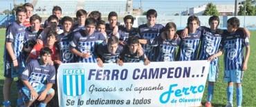 Ferro campeón de 7ma. división