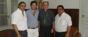 El delegado regional de AFSCA se reunió con el Obispo de la Diócesis de Azul