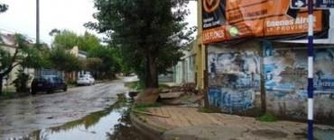 Las Flores: importante tornado afectó al casco urbano de la ciudad