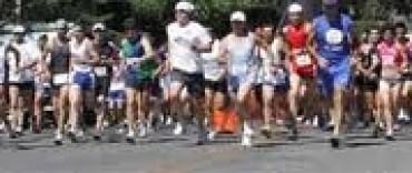 Pedestristas olavarrienses en Tandil
