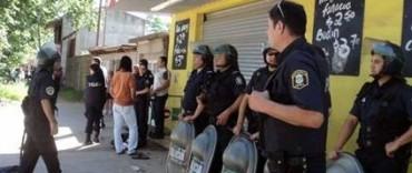 Junín: saqueo y tiros en un supermercado