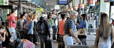 Intenso movimiento en la Terminal, el grueso se espera para este sábado