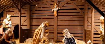 Pesebre en la capilla Nstra. Sra. De la Medalla Milagrosa