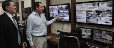 El Gobierno Municipal sigue invirtiendo en cámaras de seguridad: +seguridad en el microcentro