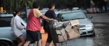 Graves problemas trajo a gran parte de la Provincia la tormenta desatada en la previa de la Nochebuena