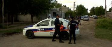 Barrio Coronel Dorrego: 5 menores aprehendidos tras un allanamiento