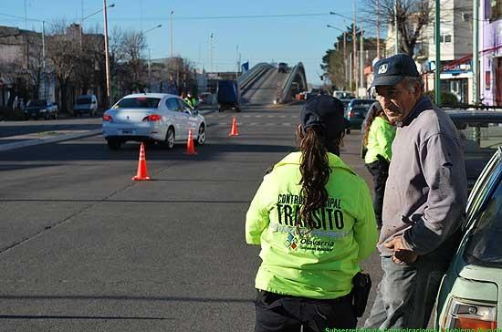 Seguridad Vial y Prevención de Accidentes: se constataron 60 infracciones y se retuvieron 12 vehículos