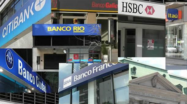 Bancarios anuncian paro de 48hs en caso de que no haya acuerdo paritario
