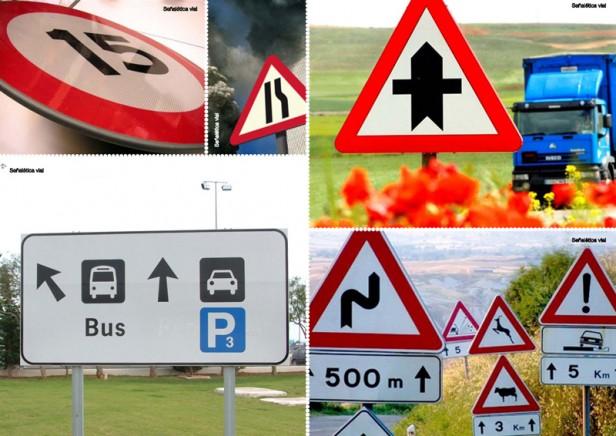 Rutas Provinciales: el Ministro Arlía salió a denunciar el robo de señales de tránsito