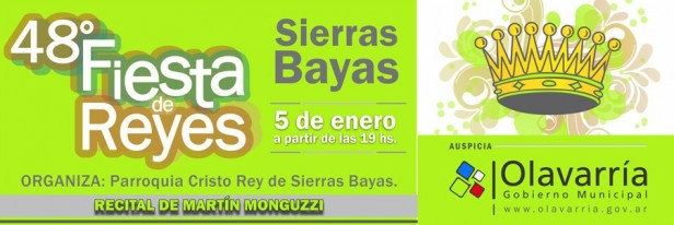 Este sábado la magia de los Reyes Magos llega a Sierras Bayas