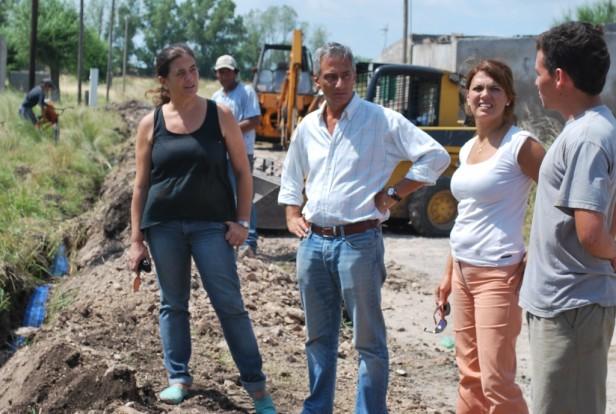 En Olavarría, más de 1200 vecinos accederán al agua corriente