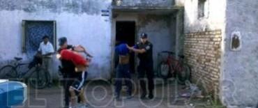 Allanamientos por un robo en Villa Aurora