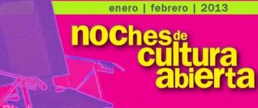 """Cine, música y danza en las """"Noches de Cultura Abierta 2013"""""""
