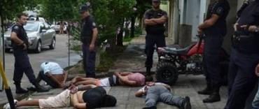Bolívar: abortaron un presunto robo y aprehendieron a los miembros de una banda