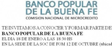 Feria del Banco Popular de la Buena Fe