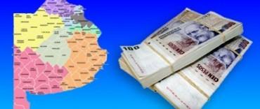 Coparticipación: se publicaron los coeficientes de coparticipación a los Municipios