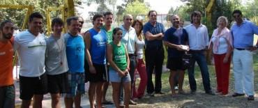 Funcionarios municipales compartieron actividades en el piletón de La Máxima
