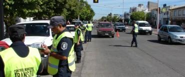 Tránsito: se intensificaron los operativos de seguridad vial
