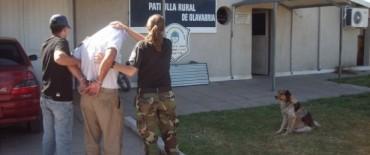 Aprehendieron a un hombre por presuntos ilícitos en un establecimiento rural