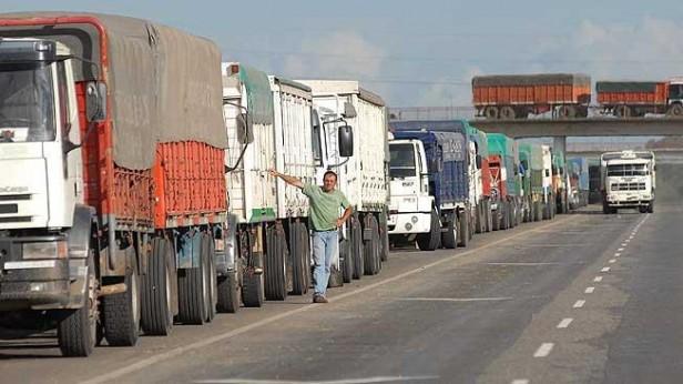 Restricción en la circulación de camiones