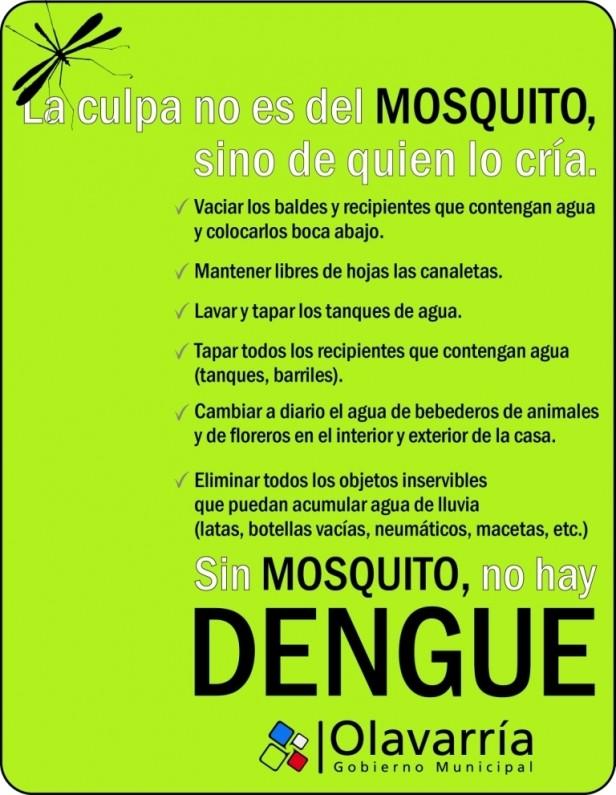 Dengue: se continúa trabajando en el Barrio Luján