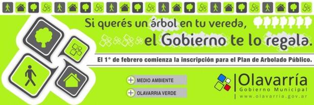 Plan de Arbolado: Comienza a atender una carpa en el Parque Eseverri