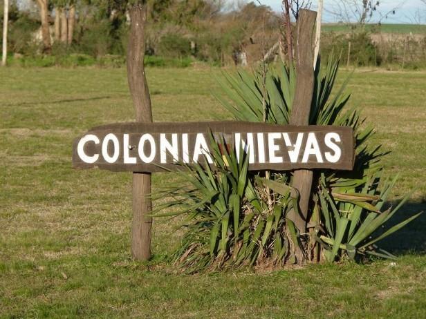 Colonia Nievas, el paseo del fin de semana