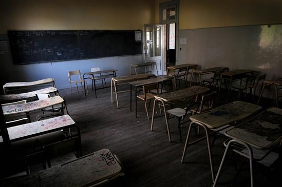 Nuevamente con alto acatamiento en Olavarría el paro docente y estatal