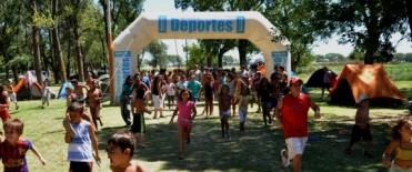 La Madrid:cierre del campamento de verano