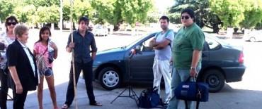 Alvear: se filmaron escenas de la nueva película del Cine con Vecinos