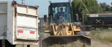 Continúan los trabajos de mantenimiento en calles de la ciudad