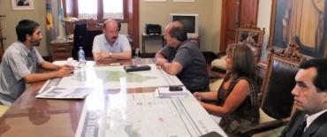 Azul: Inza recibió a funcionarios que asesoran a fábricas recuperadas