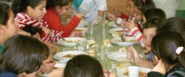 Comedores escolares, transporte e infraestructura escolar
